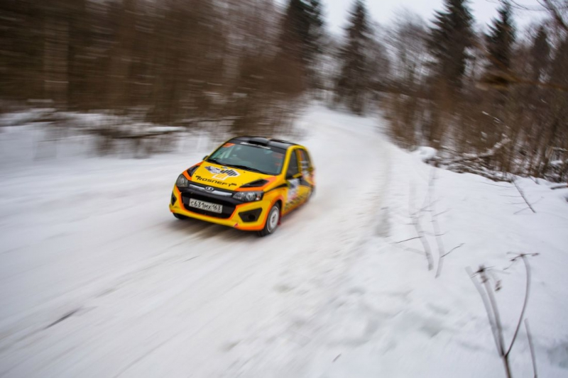 Команда LADA Sport ROSNEFT Rally выиграла « Ралли Пено»
